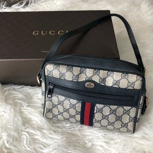 Gucci Web Shoulder Bag